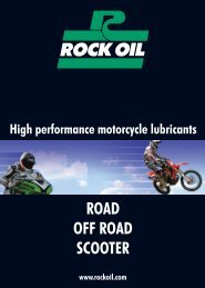 ROAD OFF ROAD SCOOTER - Rock Oil