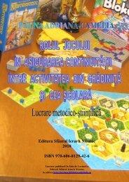 Editura Sfântul Ierarh Nicolae 2010 ISBN 978-606 ... - Sala de Lectură