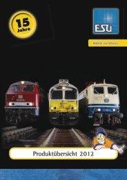Produktübersicht 2012 - ESU