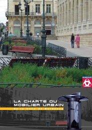 Charte du mobilier urbain (1) - Bordeaux