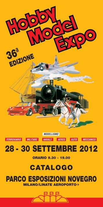 Catalogo web - Parco Esposizioni Novegro