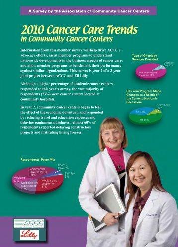 2010 Cancer Care Trends - Association of Community Cancer Centers