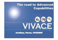 VIVACE integrated technical results - Aeronautics Days 2006