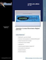 Autoclave LORMA Electrónico Digital - promosa dental