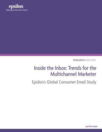 Global Consumer Email Study - Epsilon