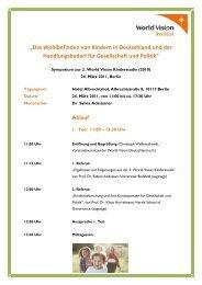 Programm Symposium.pdf - World Vision Institut