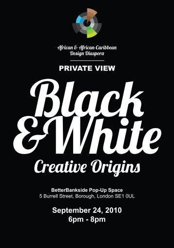 Creative Origins - African & African-Caribbean Design Diaspora