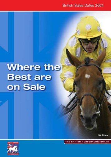 BH00493 - British Sales Final - British Horseracing Authority