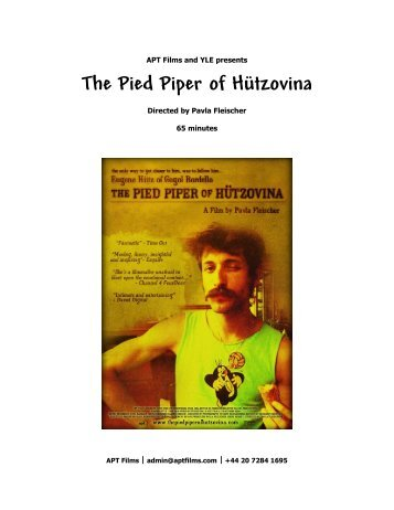 The Pied Piper of H≤tzovina - Volxmusik.net