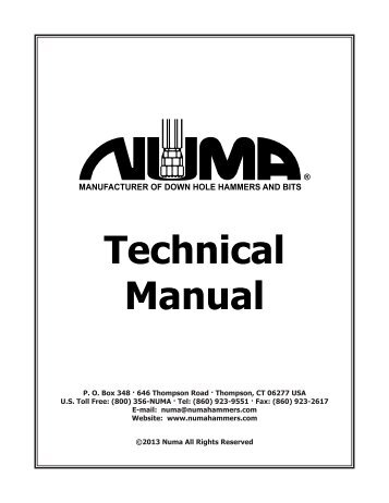 8 free Magazines from NUMAHAMMERS.COM
