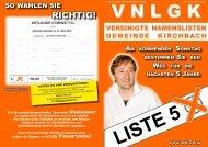 3. Aussendung - VNLGK