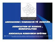 Kosovo - Municipal Cooperation