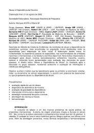 Conselho Nicotina - Faculdade de Medicina - Unesp