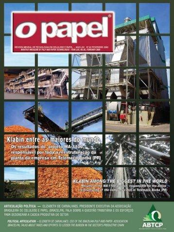 Nova publicação - Revista O Papel