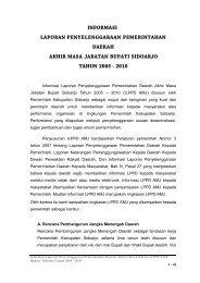 informasi laporan penyelenggaraan pemerintahan daerah akhir ...