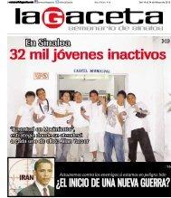 32 mil jóvenes inactivos - SEMANARIO LA GACETA