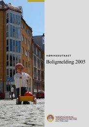 Boligmelding 2005 - Bergen kommune
