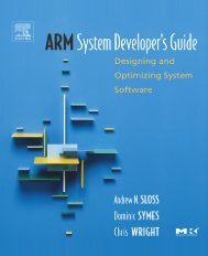 ARM System Developer's Guide : Designing and Optimizing System ...