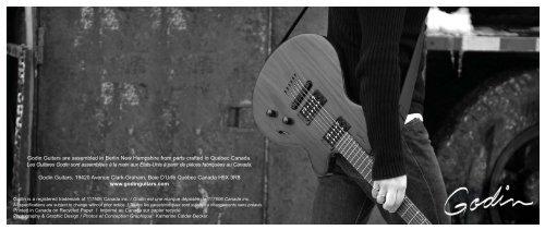 Français - Godin Guitars