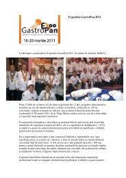 Expozitia GastroPan 2011 - LEIDA Impex