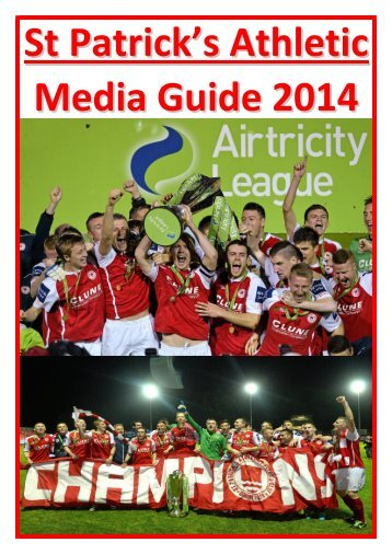 St Patrick's Athletic Media Guide 2014