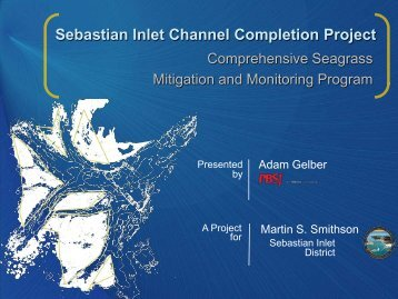 Sebastian Inlet Channel Completion Project