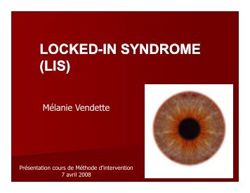 LOCKED-IN SYNDROME IN SYNDROME (LIS) - wheelchair.ch