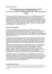 Rechtsextremismus in Ost- und Westdeutschland im Vergleich.