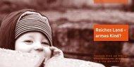 Reiches Land – armes Kind? - Evangelische Jugendhilfe Godesheim