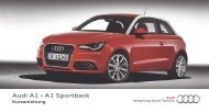 Kurzanleitung Audi A1