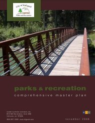 parks & recreation - City of Kalispell