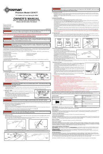 Crosman 760 manual pdf