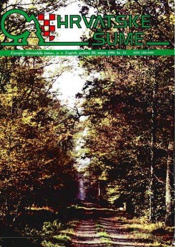 Vodoprivredna naknada u šumarstvu - Hrvatske šume