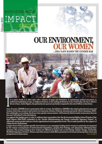 environmental IMPACT.cdr - Environmental Rights Action