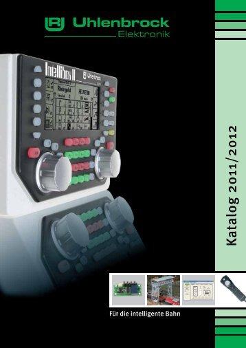 Track-Control Das Gleisbildstellpult mit dem Stecksystem - Uhlenbrock