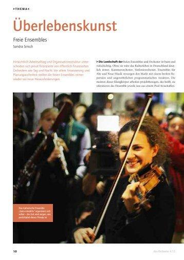 Leseprobe das Orchester 2012/04