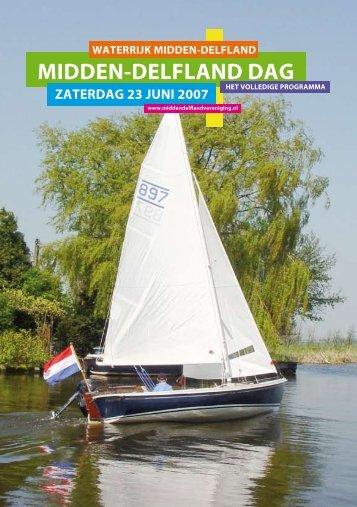 MIDDEN-DELFLAND DAG - Midden-Delfland Vereniging