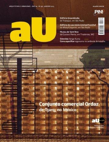 Arquitetura e Urbanismo 01 2015