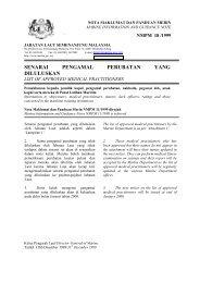 Senarai Pengamal Perubatan yang Diluluskan - Jabatan Laut ...