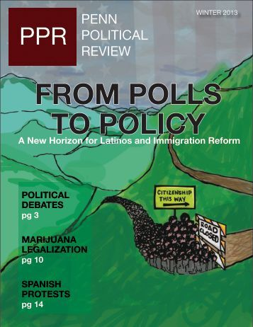 Winter – Volume IX Issue 1 - Penn Political Review