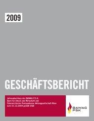 Geschäftsbericht 2009 - Bawag