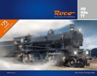Completely new design 2013! - Roco Models