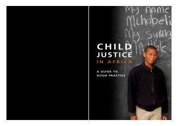 Child Justice in Africa - Community Law Centre