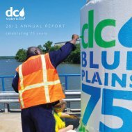 FY 2012 Annual Report - DC Water
