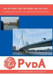 van keten naar kastje naar muur.pdf - PvdA Rotterdam