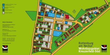 Wohnbaugebiet Kreuzerfeld-Süd - Wir bauen auf Rottenburg