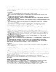 New Standards Handout While this course deals with ... - Ohio ACTE