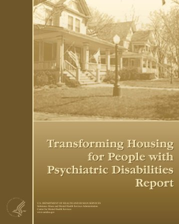 Transforming Housing for People with Psychiatric Disabilities Report ...