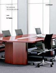 E-Table 2 Brochure - Coalesse