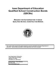 Qualified School Bonds Application - Anamosa Community School ...